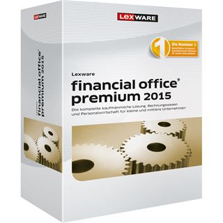 Lexware Financial Office Premium 2015 32/64 Bit Deutsch Finanzen Vollversion PC (CD)