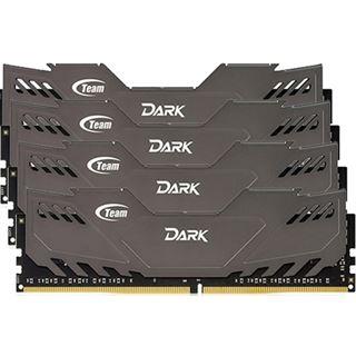 16GB TeamGroup Dark Series grau DDR4-2800 DIMM CL16 Quad Kit