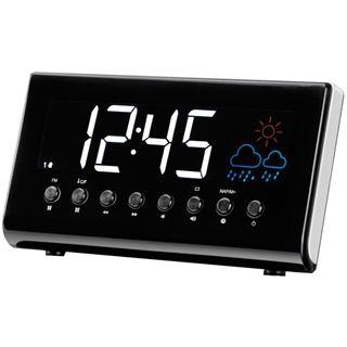 Denver CR-718 Uhrenradio mit Wetterstation