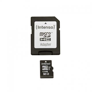 32 GB Intenso microSDHC Class 10 Retail inkl. Adapter auf SD