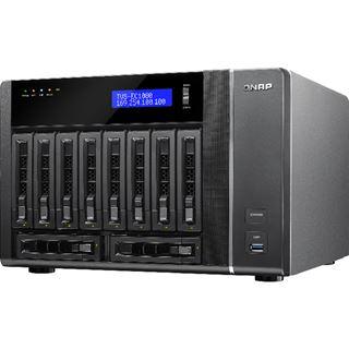 QNAP Turbo Station TVS-EC1080-i3-8G ohne Festplatten