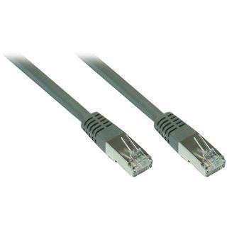 1.50m Good Connections Cat. 7 Patchkabel S/FTP PiMF RJ45 Stecker auf RJ45 Stecker Grau halogenfrei