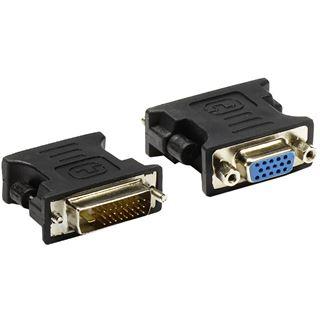 Good Connections Adapter DVI-D-Stecker 24+1 Dual-Link an VGA-Buchse