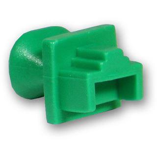 Good Connections Staubschutzdeckel für RJ-45 Buchse grün