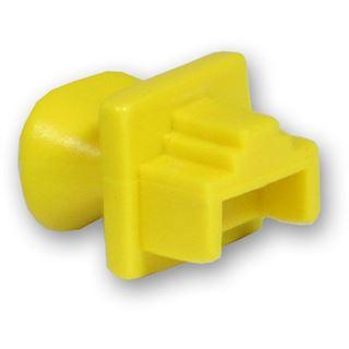 Good Connections Staubschutzdeckel für RJ-45 Buchse gelb