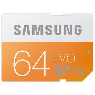 64 GB Samsung EVO SDXC Class 10 U1 Bulk