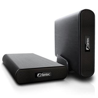 "Fantec AluAir U3-6G 3.5"" (8,89cm) USB 3.0 schwarz"