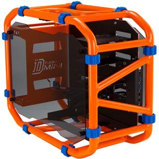IN WIN D-Frame mit Sichtfenster Mini-ITX ohne Netzteil orange