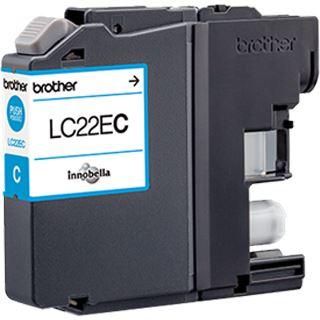 Brother Tinte LC22EC cyan