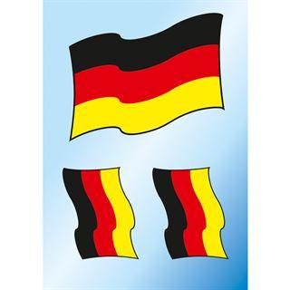 Herma Bügelbilder Deutschland Fahne