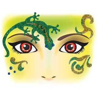 Herma Face Art Sticker Gecko