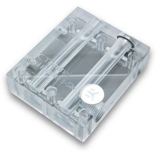 EK Water Blocks EK-FC Terminal DUAL Parallel 3-Slot - Acryl