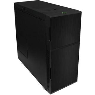 Nanoxia Deep Silence 1 Rev. B gedämmt Midi Tower ohne Netzteil schwarz