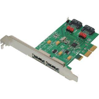 Dawicontrol DC-622e 2 Port PCIe 2.0 x2 bootfähig retail