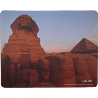InLine Mauspad Sphinx 240 mm x 190 mm Motiv