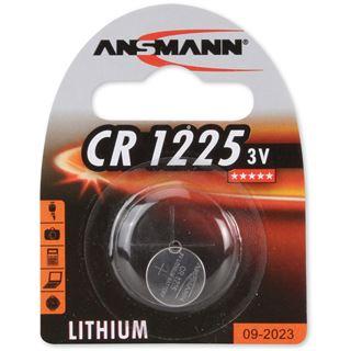Ansmann Knopfzelle 3V Lithium CR1225, 1er Pack (1516-0008)