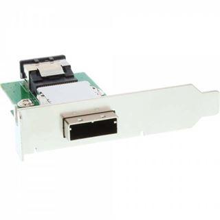 InLine Low-Profile Braket für SAS (SFF-8088) (27650)