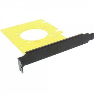 """InLine HDD Einbauplatine, 6,35cm (2,5"""") HDD zu PCIe oder PCI-Slot, mit Schrauben und Ausbohrung für Lüfter"""