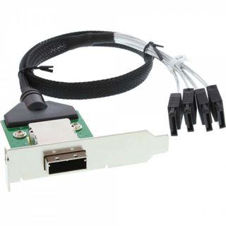 InLine Slotblech für SAS (SFF-8088) (27653B)