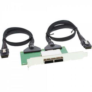 InLine Slotblech für SAS (SFF-8088) (27651D)