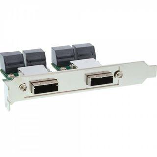 InLine Slotblech für SAS (SFF-8088) (27655A)