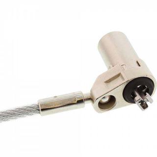 InLine Ultrabook Sicherheitsschloss, mit Schlüssel, 4,4mm x 2m