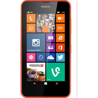Microsoft Lumia 735 orange