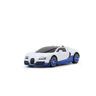 Jamara Bugatti Veyron GrandSportVit.1:18weiß/blau 40 Mhz