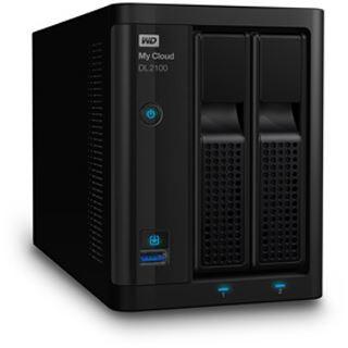 WD My Cloud DL2100 4 TB (2x 2000GB)