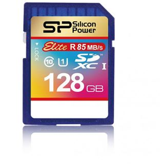 128 GB Silicon Power Elite SDXC Class 10 U1 Retail