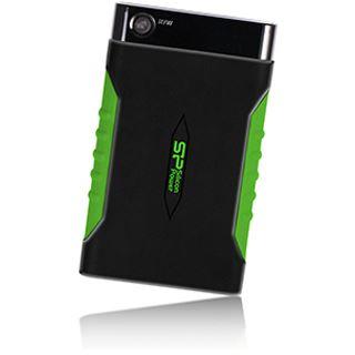 "1000GB Silicon Power Armor A15 SP010TBPHDA15S3K 2.5"" (6.4cm) USB 3.0 schwarz/grün"