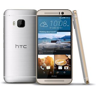 HTC One (M9) 32 GB gold/silber